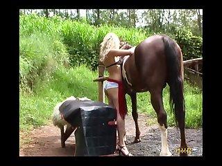 Milly Amorim Trepando Com Cavalo Engolindo Porra (part 1)