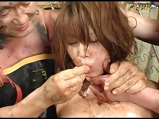 Genki Dgen018 The Fish That Has Is Crunched And The Wound Is Received 002